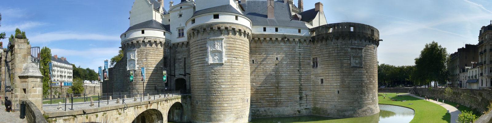 Château des ducs de Bretagne - Visiter Nantes depuis la résidence pour sénior Charles Roger