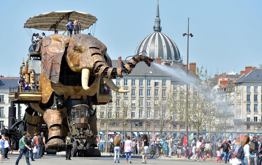 L'éléphant de Nantes - Visiter Nantes